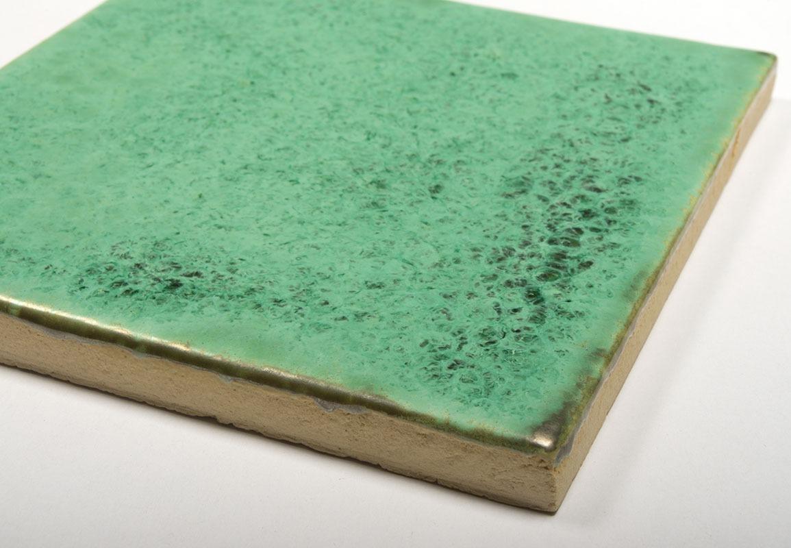 Frozen Celadon handmade ceramic tiles