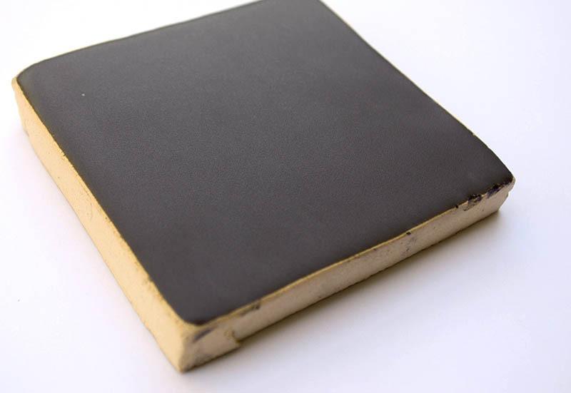 Gray Matte V handmade ceramic tiles