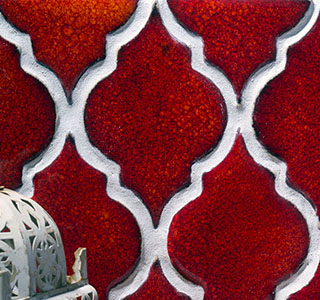 Dekor-Kafle -  Ogniste Marrakesze