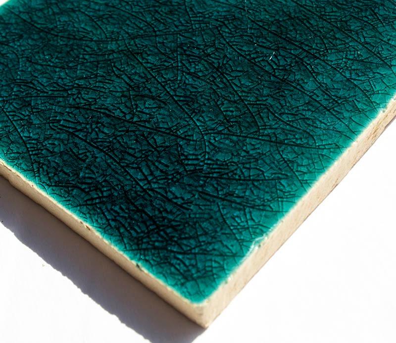 Marine Crackle handmade tiles
