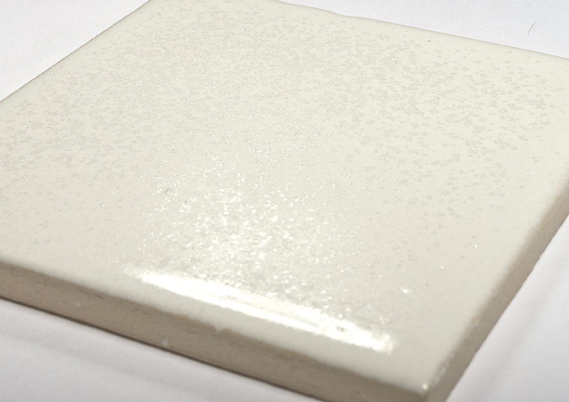 White muu handmade ceramic tiles