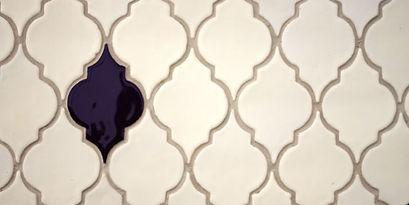 White Chocolate handmade ceramic tiles