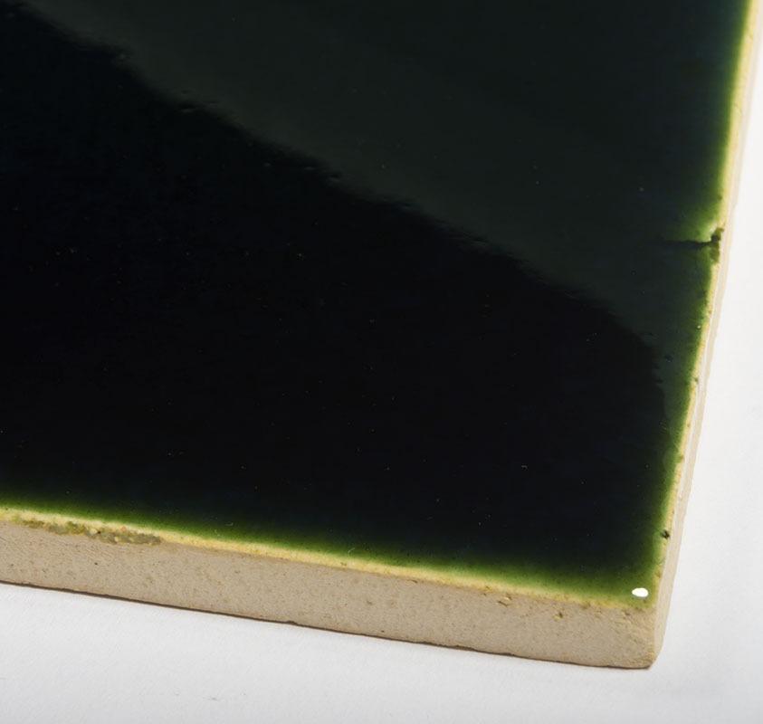 Bottle Green handmade tiles