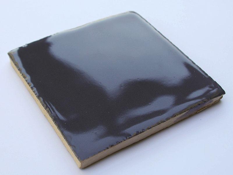 Gray Glossy VII handmade ceramic tiles
