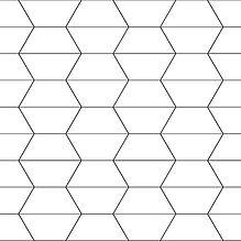 Kafle w kształcie trapezu - sposoby układania