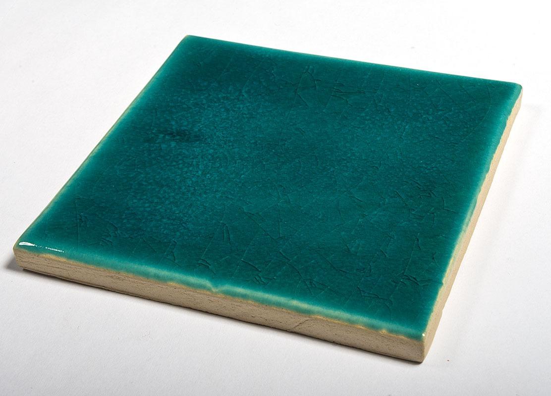 Azure handmade tiles