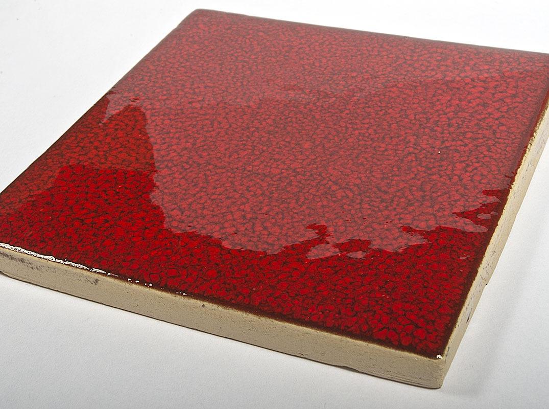 Red Papper handmade tiles