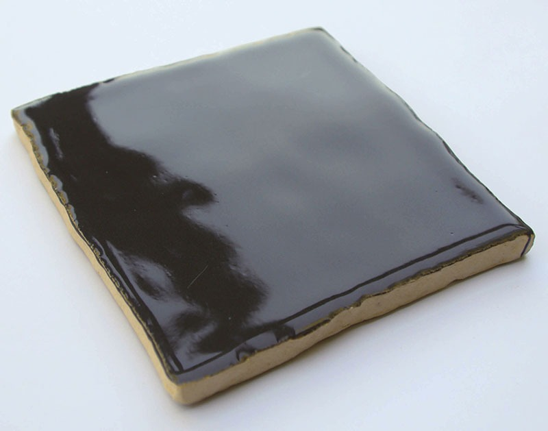 Gray Glossy IX handmade ceramic tiles