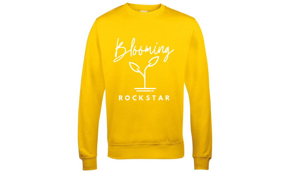 Blooming Rockstar Sweatshirt