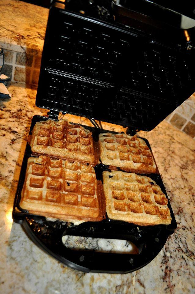 Best yeast waffles Portland