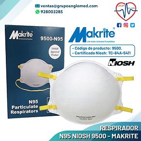 10 RESPIRADOR N95 NIOSH 9500 - MAKRITE.p