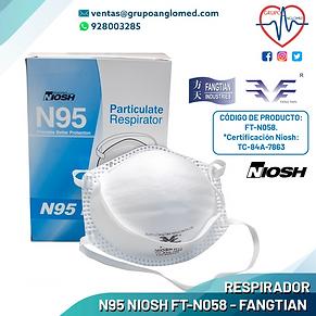 11 RESPIRADOR N95 NIOSH FT-N058 - FANGTI