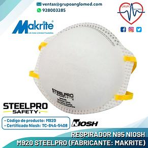 9 RESPIRADOR N95 NIOSH M920 - STEELPRO.p