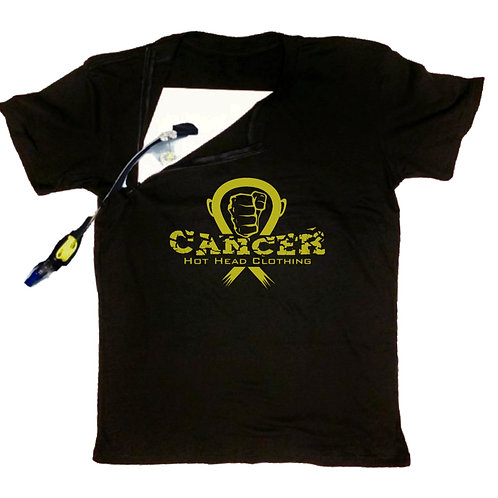 Adult Gold Crew Neck With Zipper