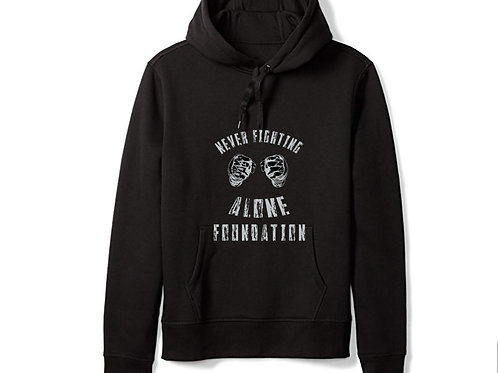 """Kids """"Never Fighting Alone Foundation"""" Hoodie"""