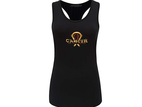Women's Cancer Logo Sport Tank Top
