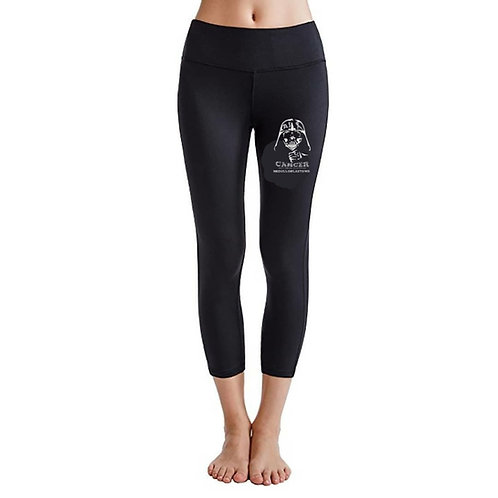 Team AJ Solid Black Leggings