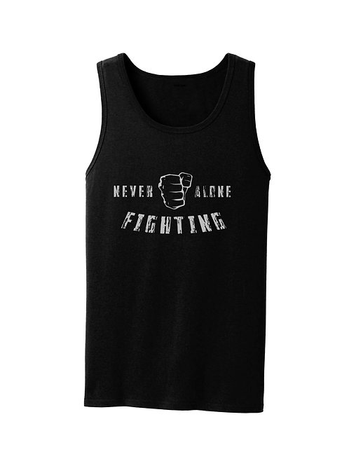 """Adult """"Never Fighting Alone"""" Tank Top"""