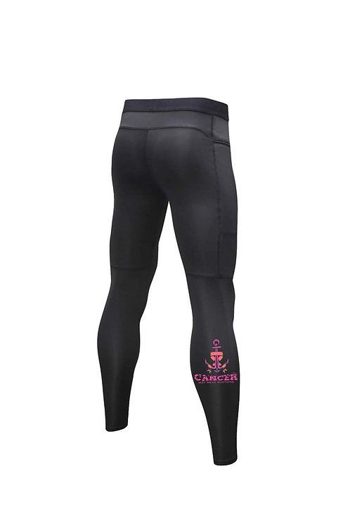 Men's Team Melissa Compression Zipper Pants