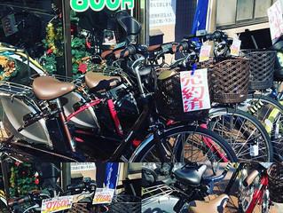 12月の電動アシスト自転車特価