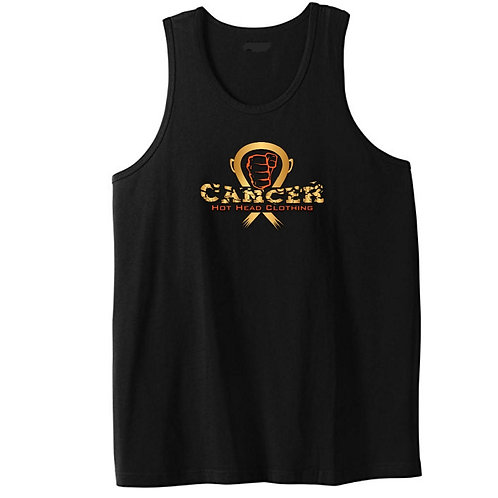 Adults Cancer Logo Tank Top