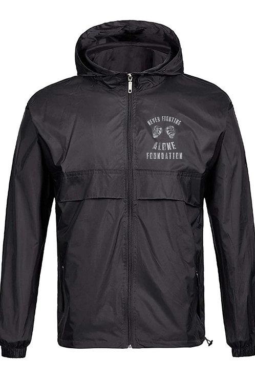 Never Fighting Alone Lightweight Unisex Rain Jacket