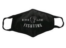 """Never Fighting Alone"" Mask"