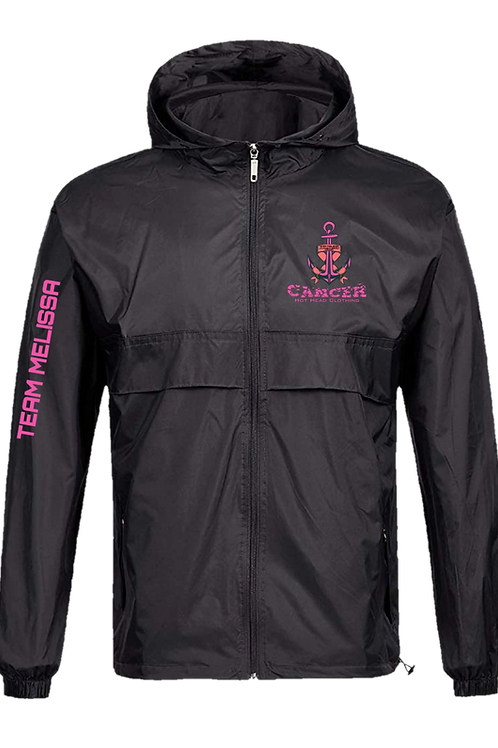 Team Melissa Lightweight Unisex Rain Jacket