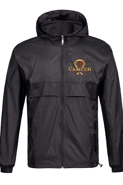 Orange and Gold logo Lightweight Unisex Rain Jacket