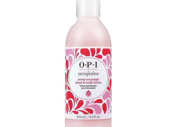 Avojuice OPI Peony and Poppy Mains