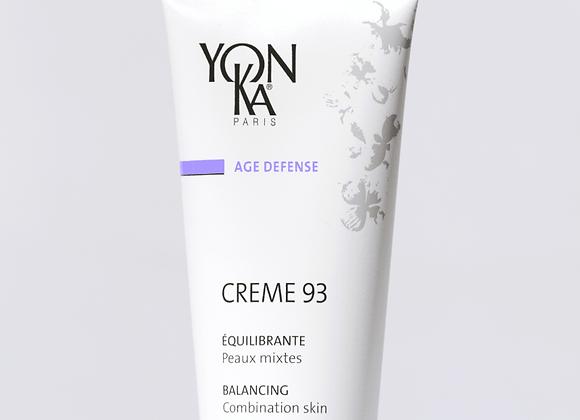 Crème 93 - peaux mixtes