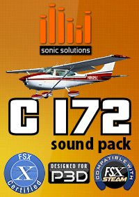 Sonic Solutions - Cessna 172 Sound Pack V2