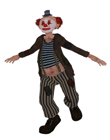 Man-Funny-Clown-Humor-Dance-Pose-Shoes-R