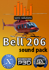 Sonic Solutions Bell 206 Sound Pack