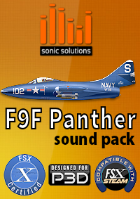 Sonic Solutions - F9F Panther Sound Pack
