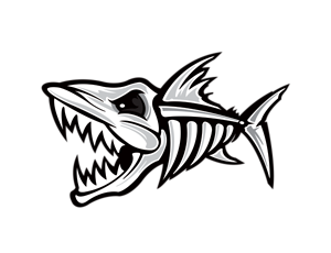 black-fish-black-and-white-for-halloween