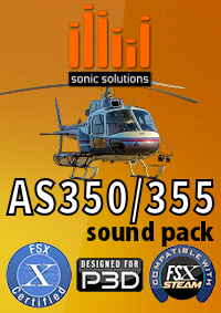 Sonic Solutions - AS350 Sound Pack