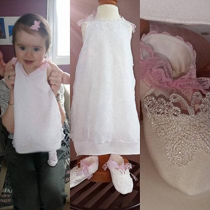 robe de bapteme bohème