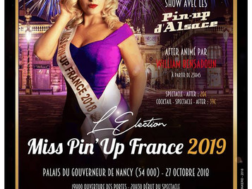création pour Miss pin up FRANCE