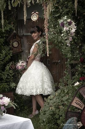 robe de mariée Alice (pin up rockabilly)