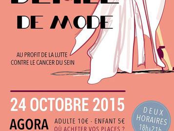 DEFILE MODEN'ROZ au profit du de la lutte contre le cancer du sein