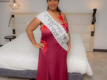 CECILE 2nde dauphine de MISS RONDE FRANCE