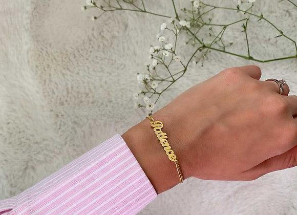 Bracelet personnalisé maille