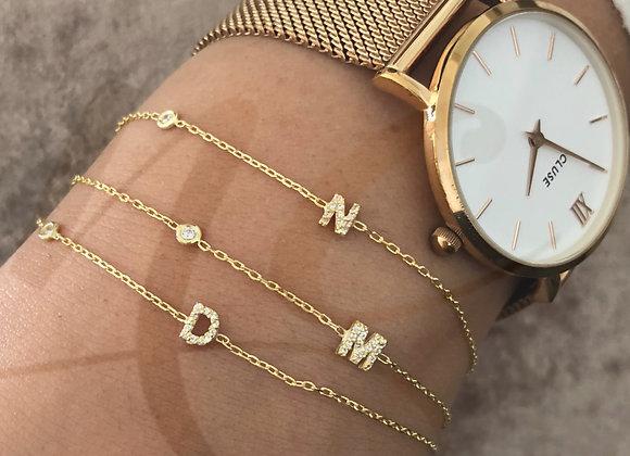 Bracelet initial