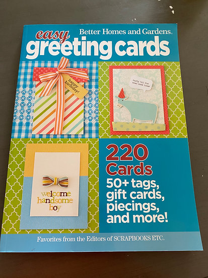 Better Homes and Gardens - Easy Greeting Cards