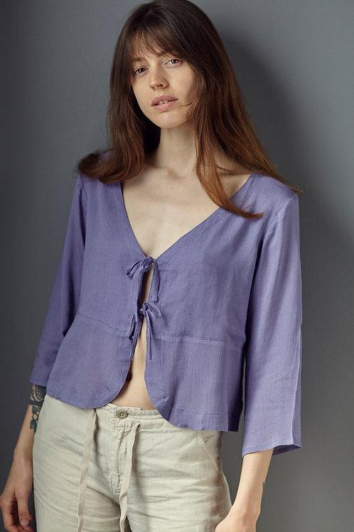 Edie blouse - lavender