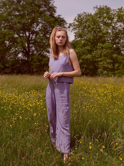 Lavender Top & Trouser Set