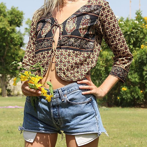 Lily blouse - natural/cream