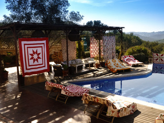 Quilt & Patchwork retreat in Sitges