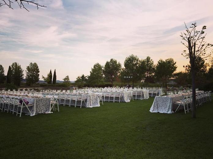 La boda de O&L en Cavas Vilarnau